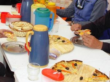 Pizza on Aconcagua?