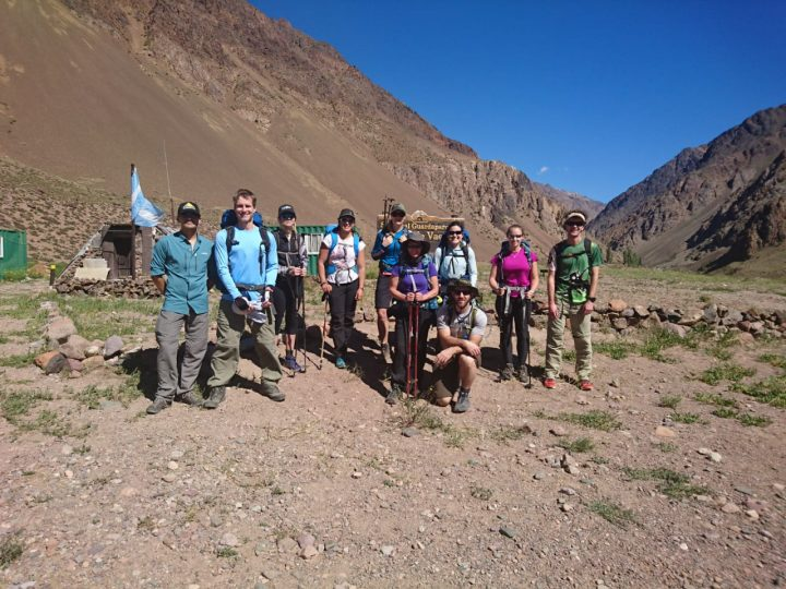 3-day approach hike