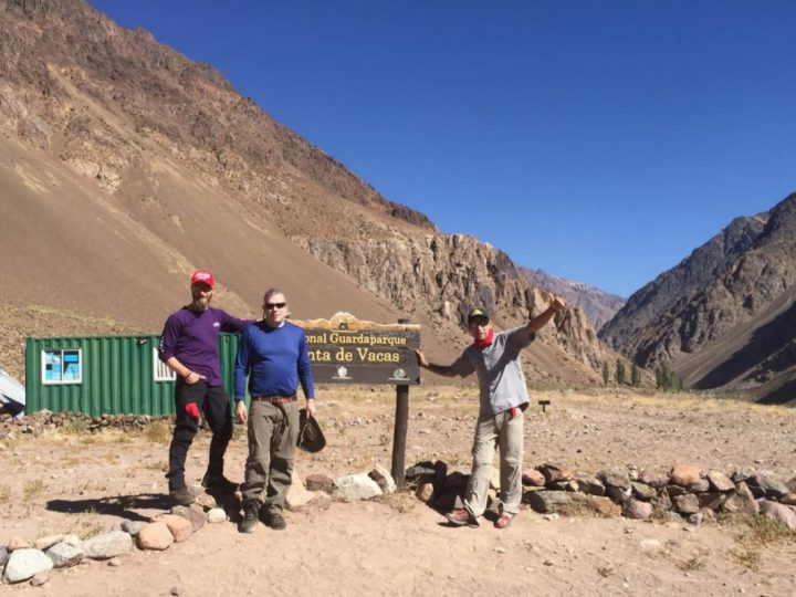 Approach hike to Base Camp